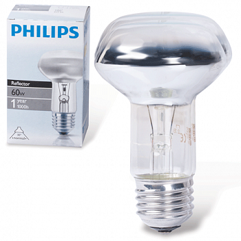 Лампа зерк. Philips R80 E27 60W 4253